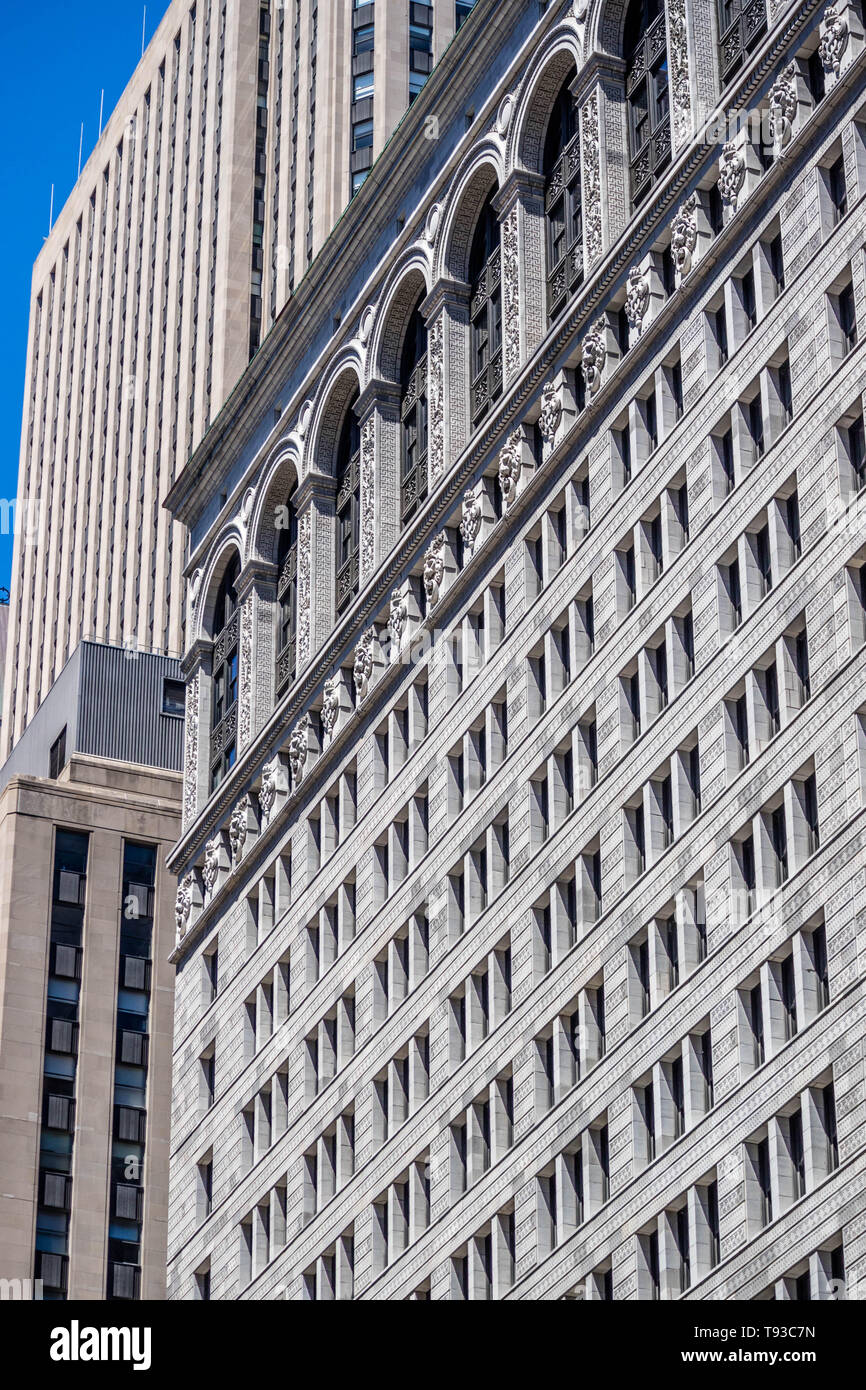 Chicago, IL, USA - July 8, 2018: The famous Merchandise Mart - Stock Image