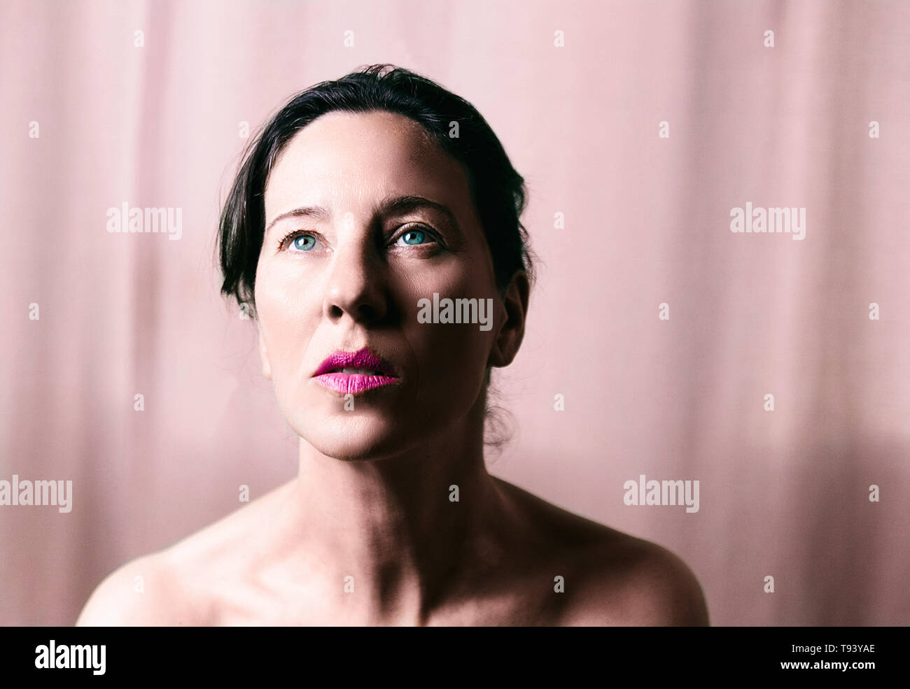 beauty in pink tones - Stock Image