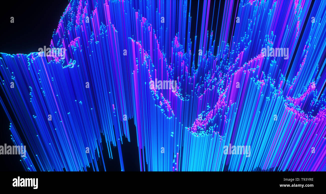 Abstract Big Data Background Wallpaper Design Motion