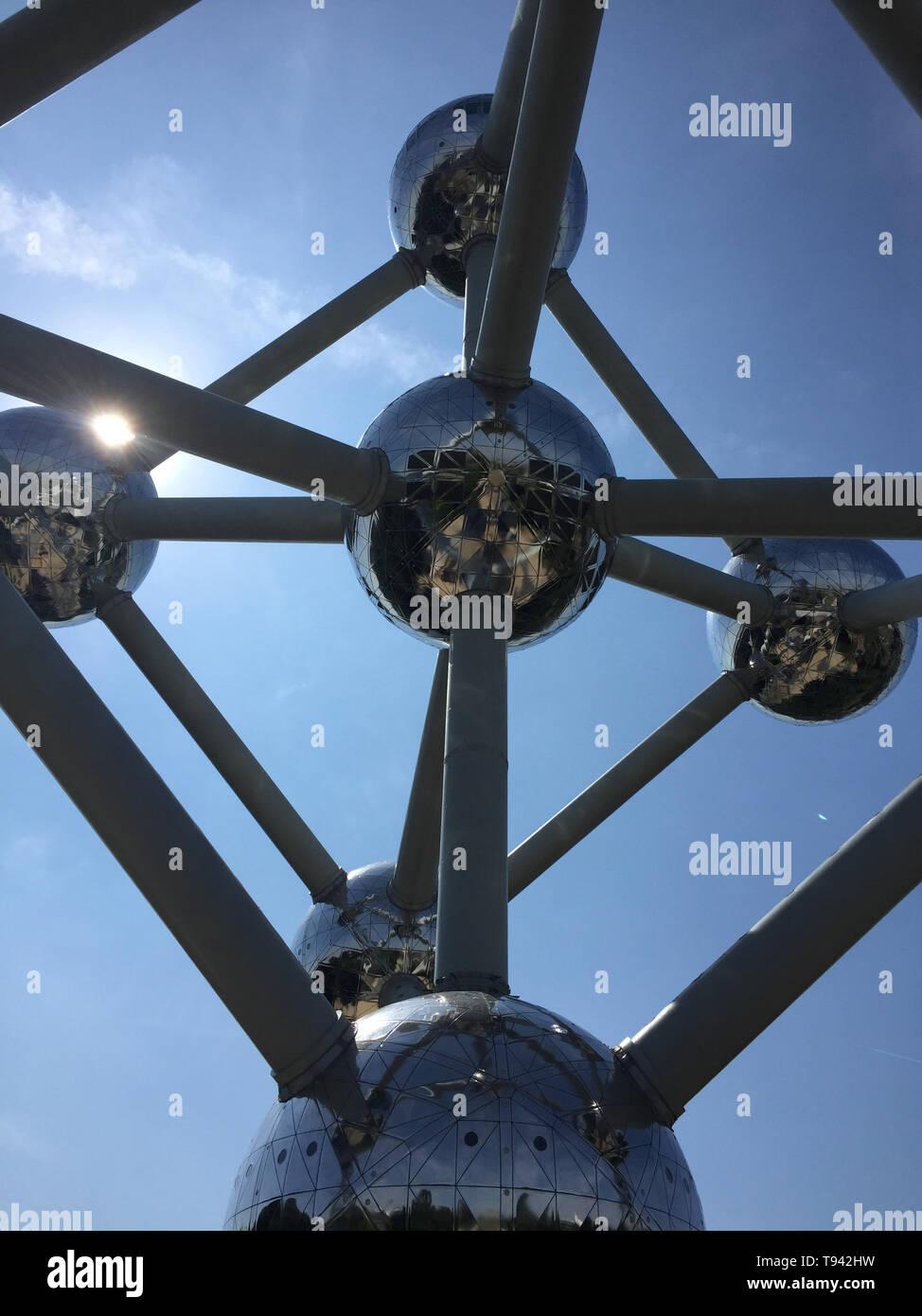 Atomium_Brüssel - Stock Image