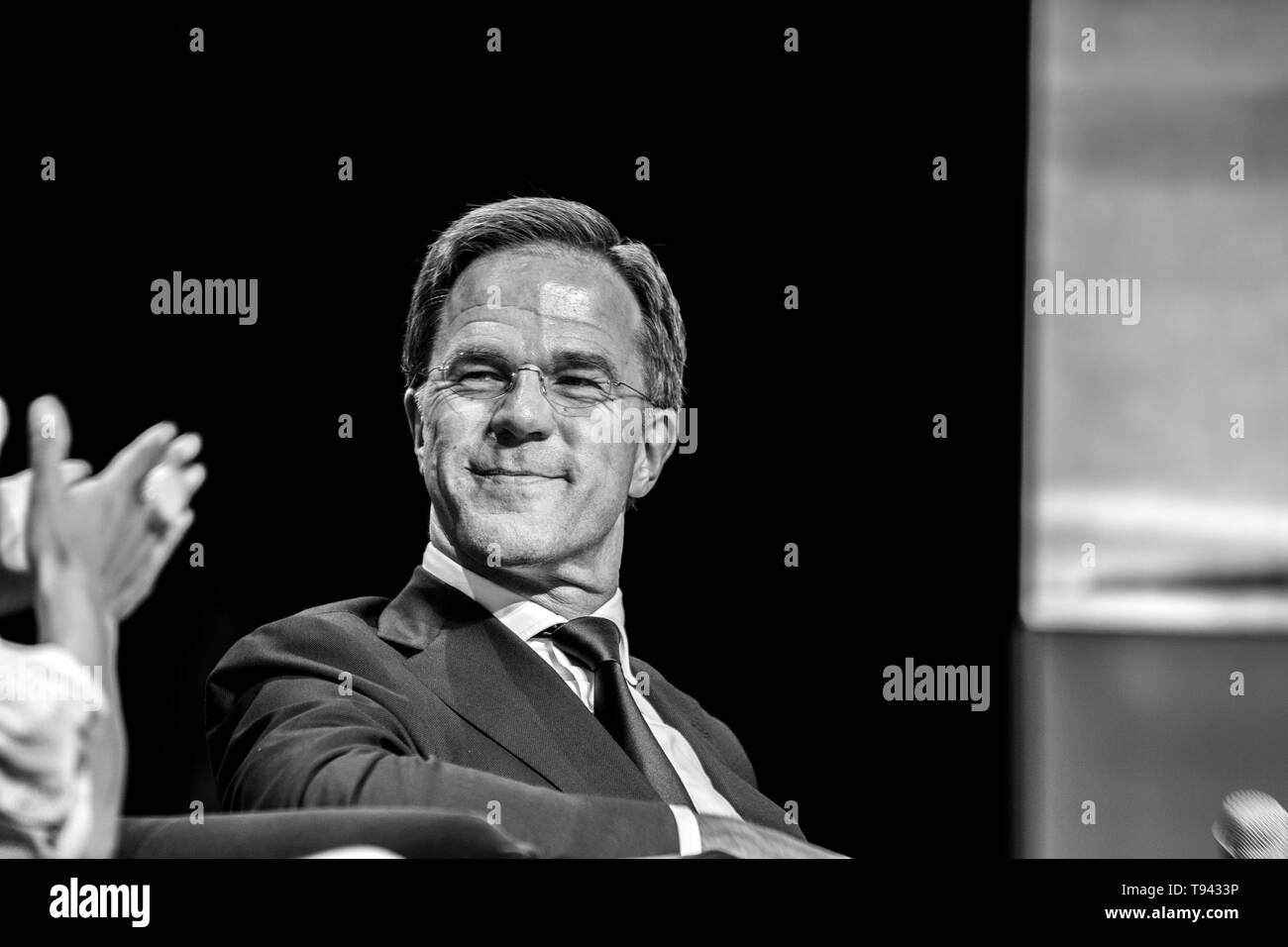 Prime Minister Mark Rutte At The World Retail Congress At The Rai Complex Amsterdam The Netherlands 2019 - Stock Image