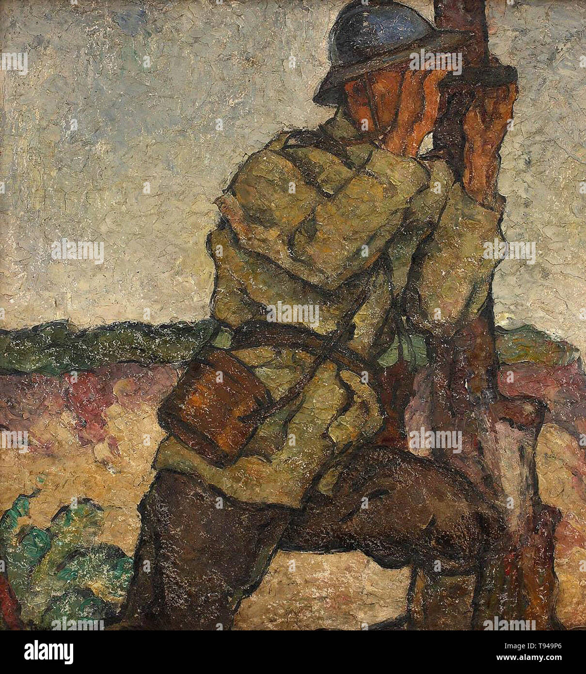 Ion Theodorescu-Sion - scout 1917 - Stock Image