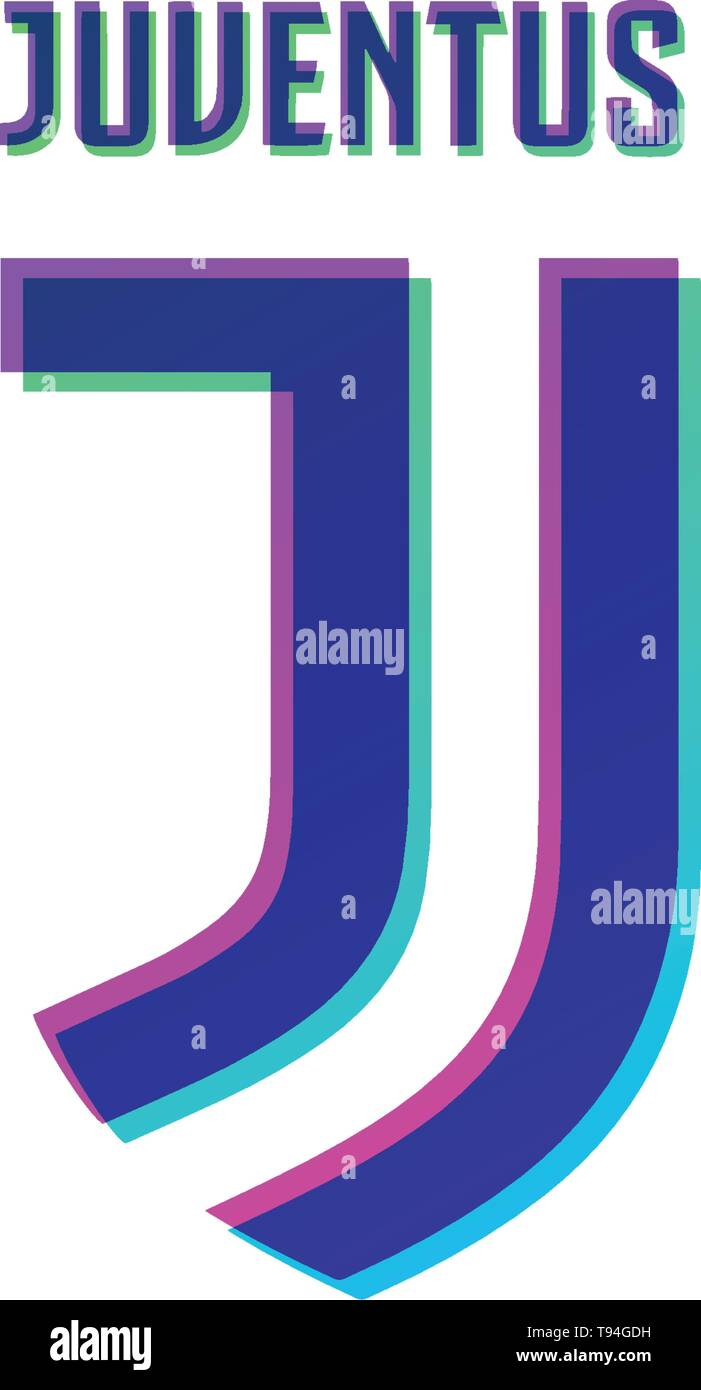 juventus official logo design vector illustration icon symbol - vector - Stock Vector