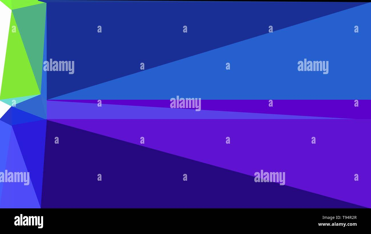 Triangle Background With Dark Slate Blue Blue Violet And
