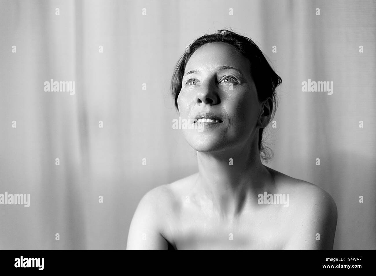mature woman - Stock Image