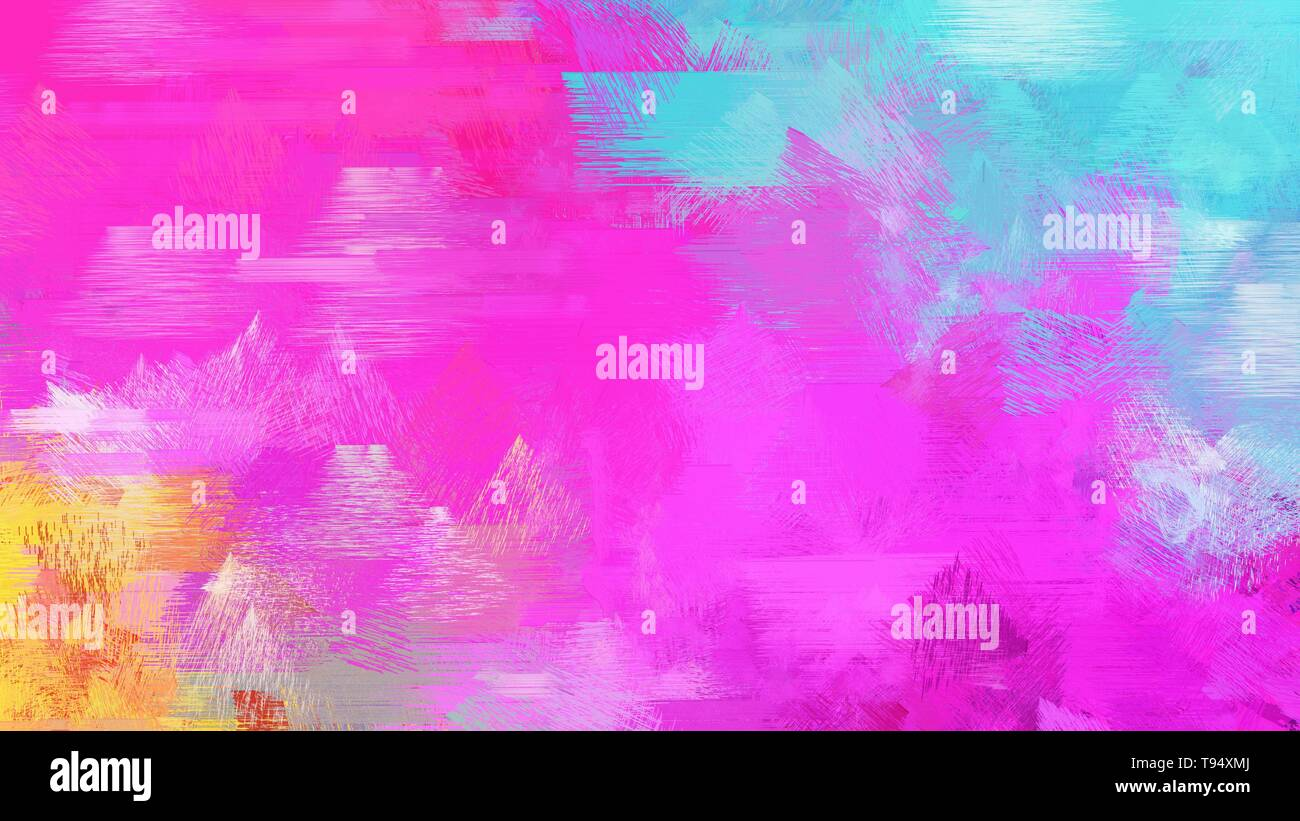 Neon Fuchsia Pastel Blue And Medium Turquoise Color Grunge Paper Background Can Be Used For Wallpaper Cards Poster Or Creative Fasion Design Eleme Stock Photo Alamy
