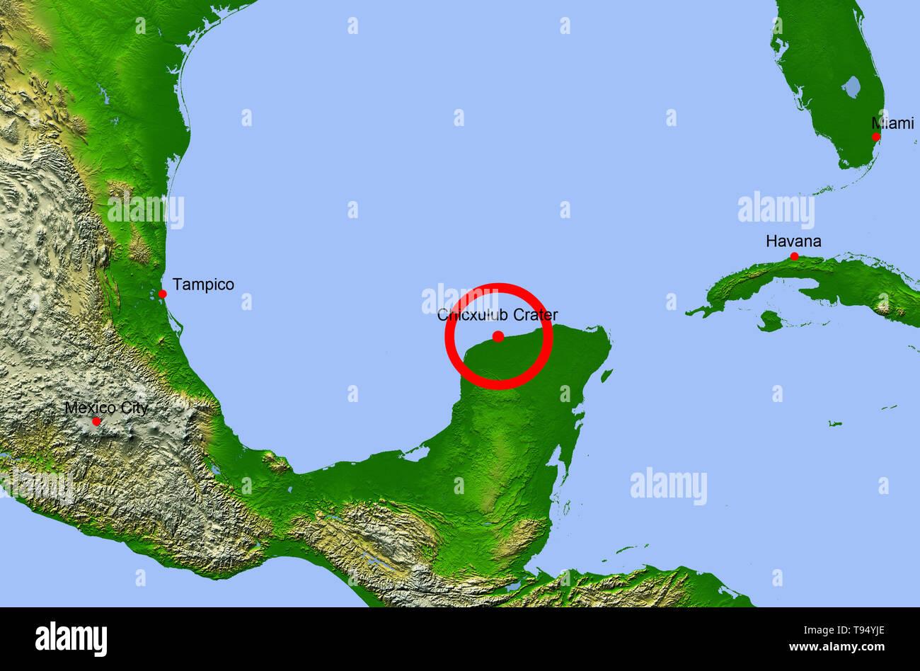 Map Of Yucatan Stock Photos & Map Of Yucatan Stock Images - Alamy