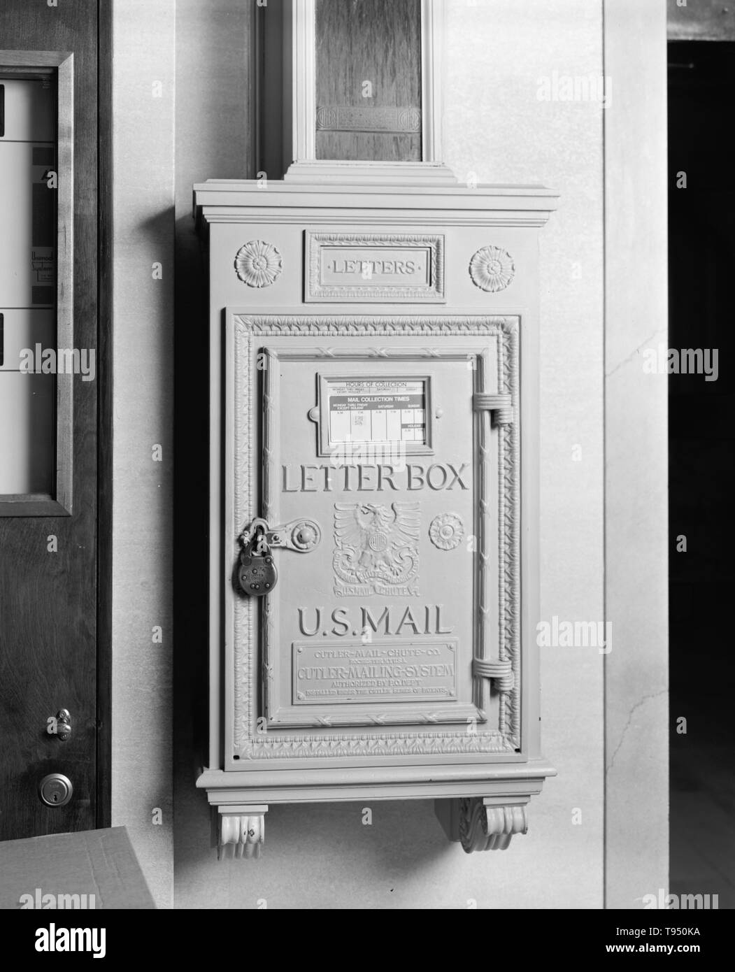 Public Mailbox Black and White Stock Photos & Images - Alamy