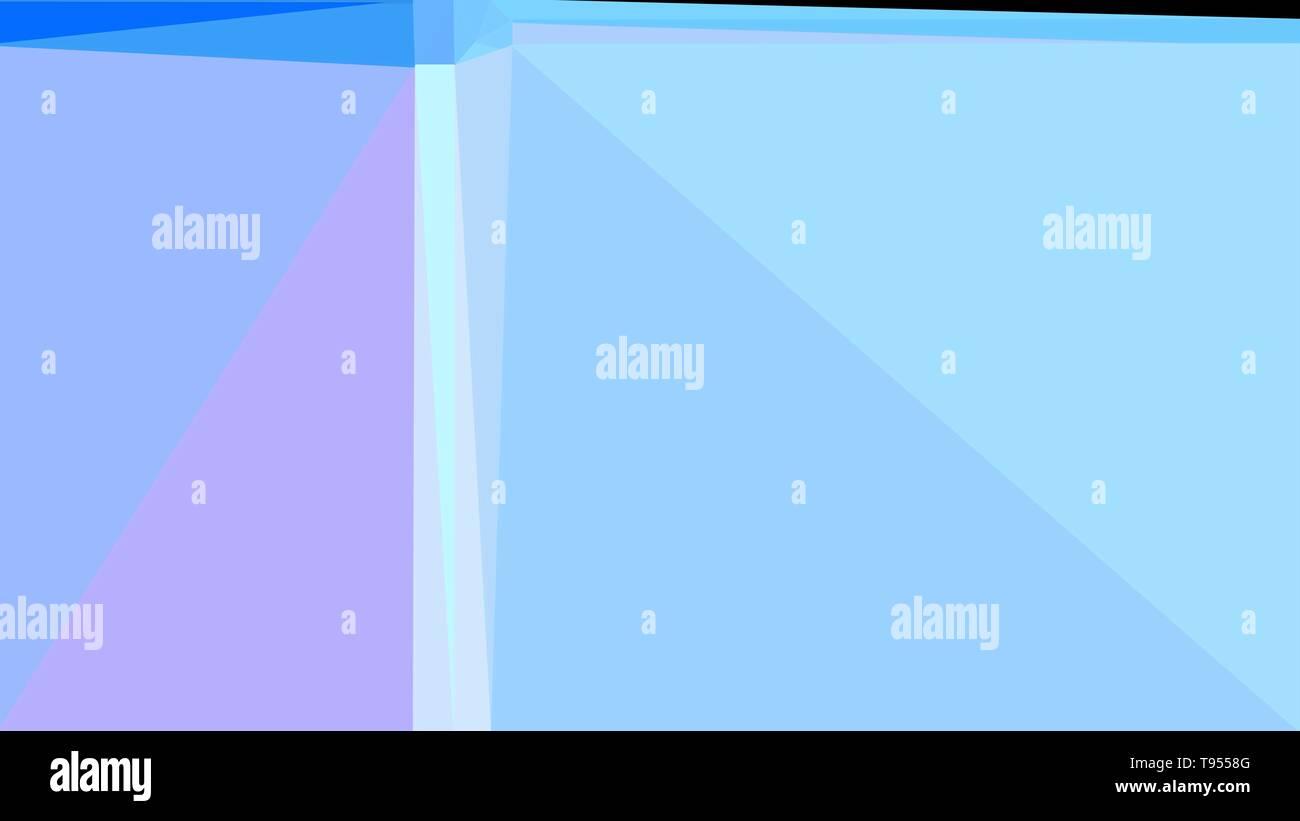 Geometric Light Blue Black And Dodger Blue Color Background