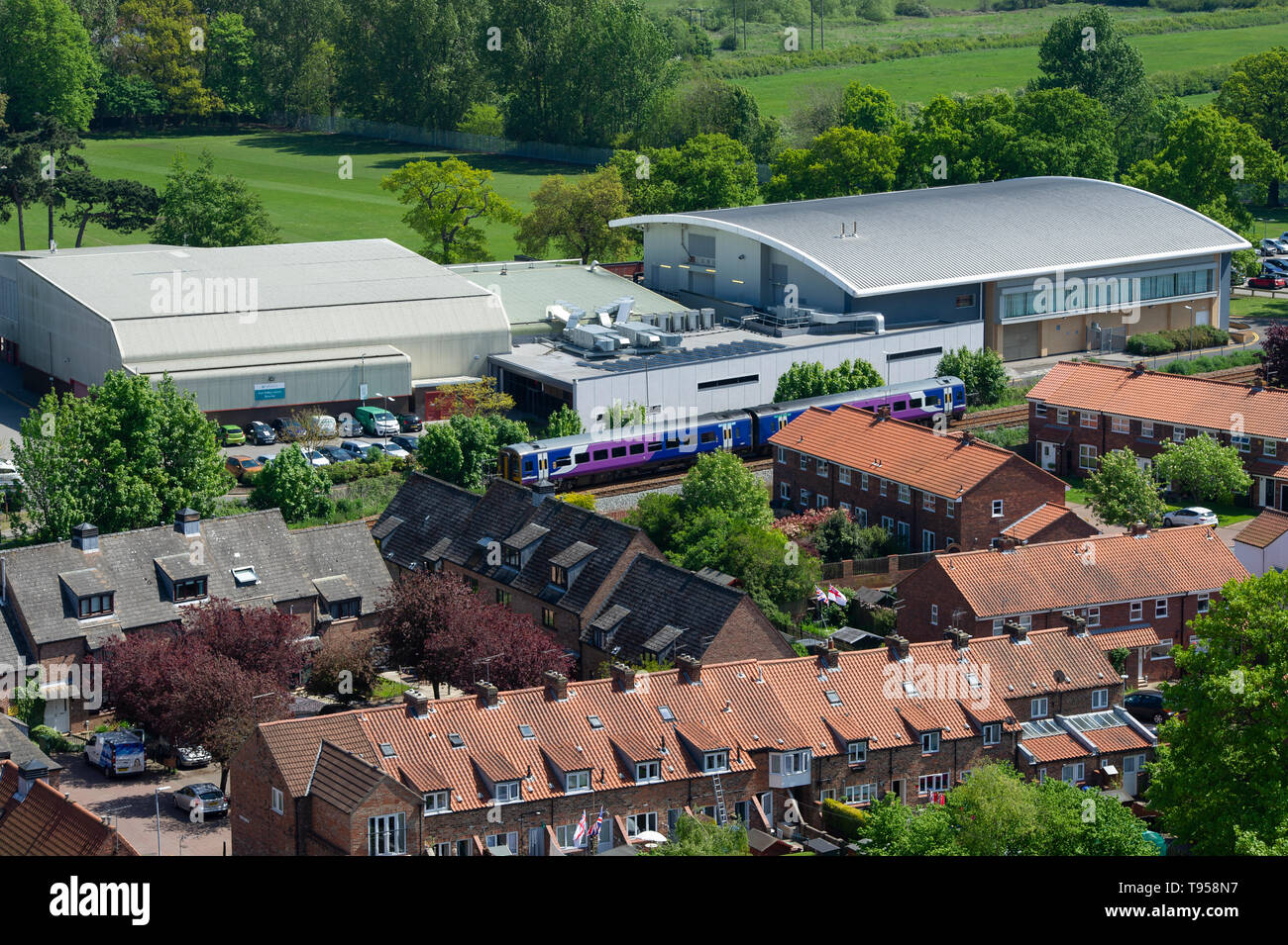 Beverley Leisure Centre, Beverely, East Yorkshire Stock Photo