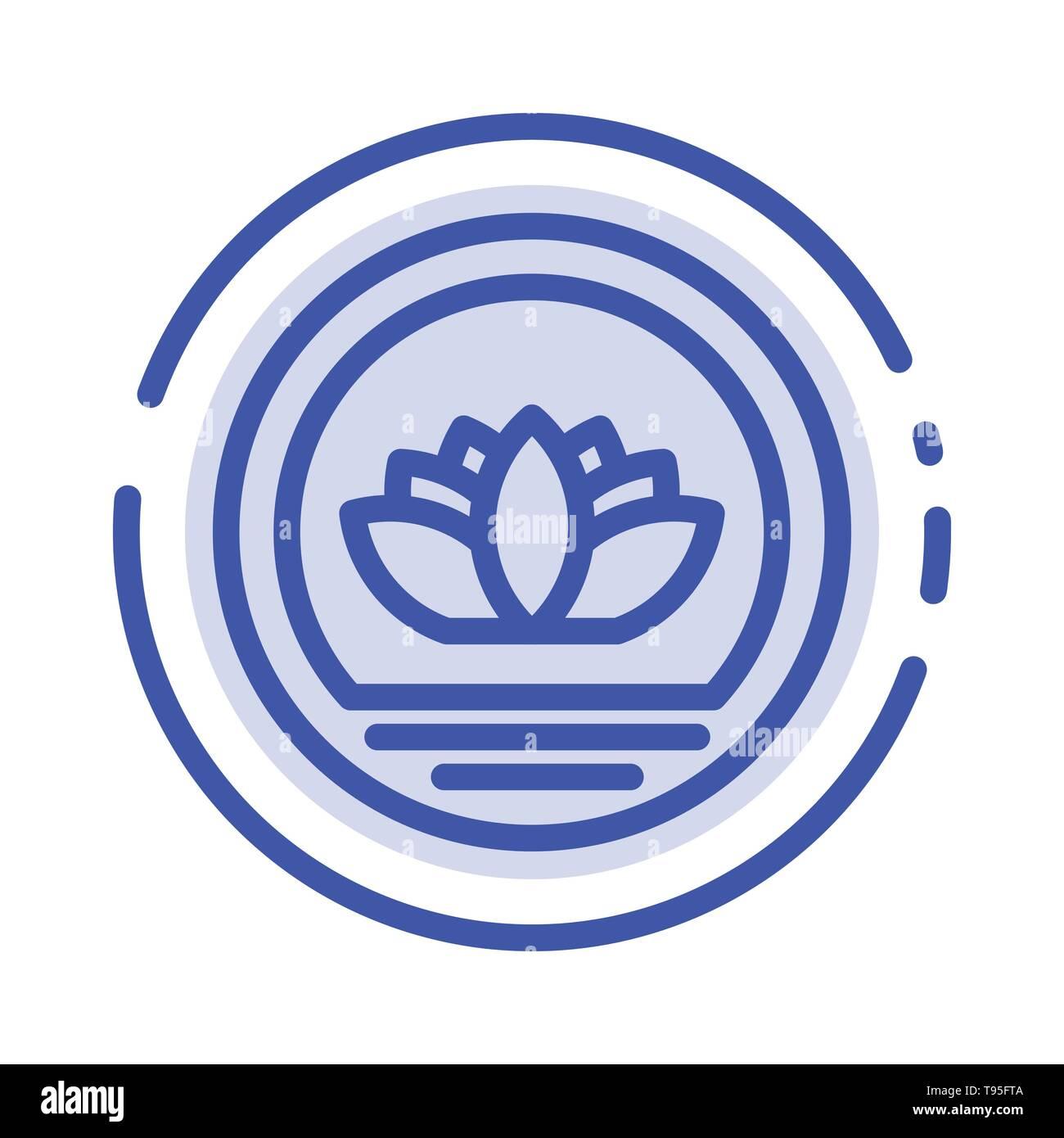 Bangladesh, Bangladeshi, Coin, Coins Blue Dotted Line Line