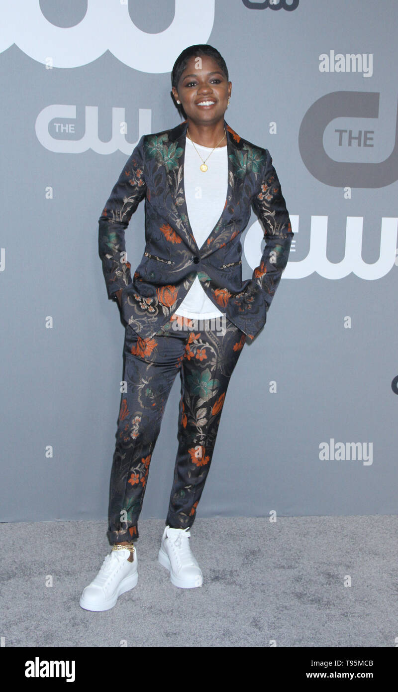 New York, USA. 16th May 2019. Bre-Z attend 2019 The CW Upfront New York City Center in New York New York, USA. 16th May 2019. Credit:RW/MediaPunch Credit: MediaPunch Inc/Alamy Live News - Stock Image