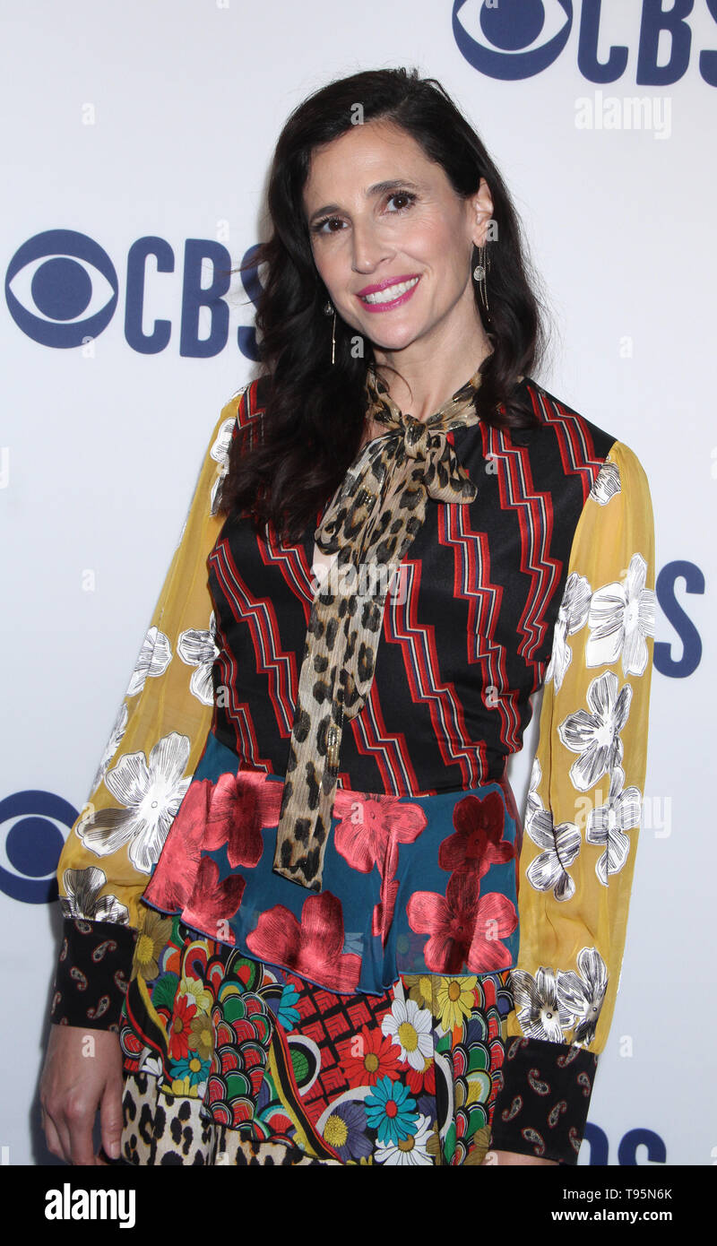 March 15,  2019 Michaela Watkins  attend  2019 CBS Upfront  at the Plaza Todd English Food Hall in New York March 15, 2019  Credit:RW/MediaPunch - Stock Image