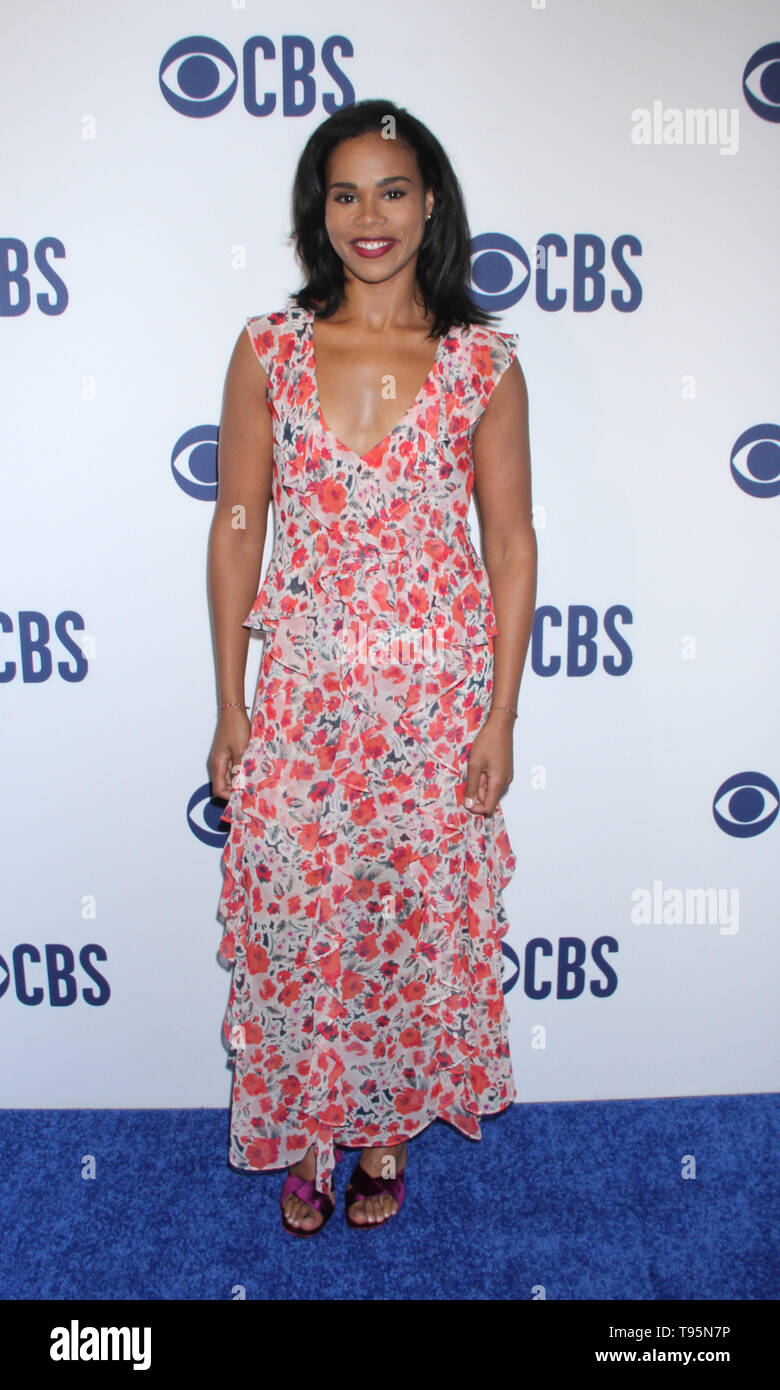 March 15,  2019 Roxy Sternberg  attend  2019 CBS Upfront  at the Plaza Todd English Food Hall in New York March 15, 2019  Credit:RW/MediaPunch - Stock Image