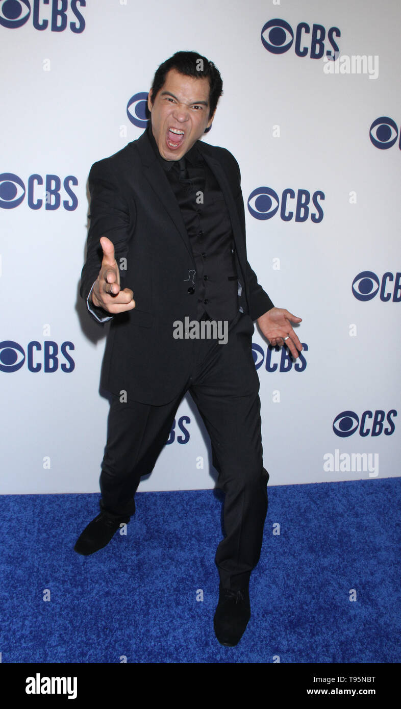 March 15,  2019 Nathaniel Arcand  attend  2019 CBS Upfront  at the Plaza Todd English Food Hall in New York March 15, 2019  Credit:RW/MediaPunch - Stock Image