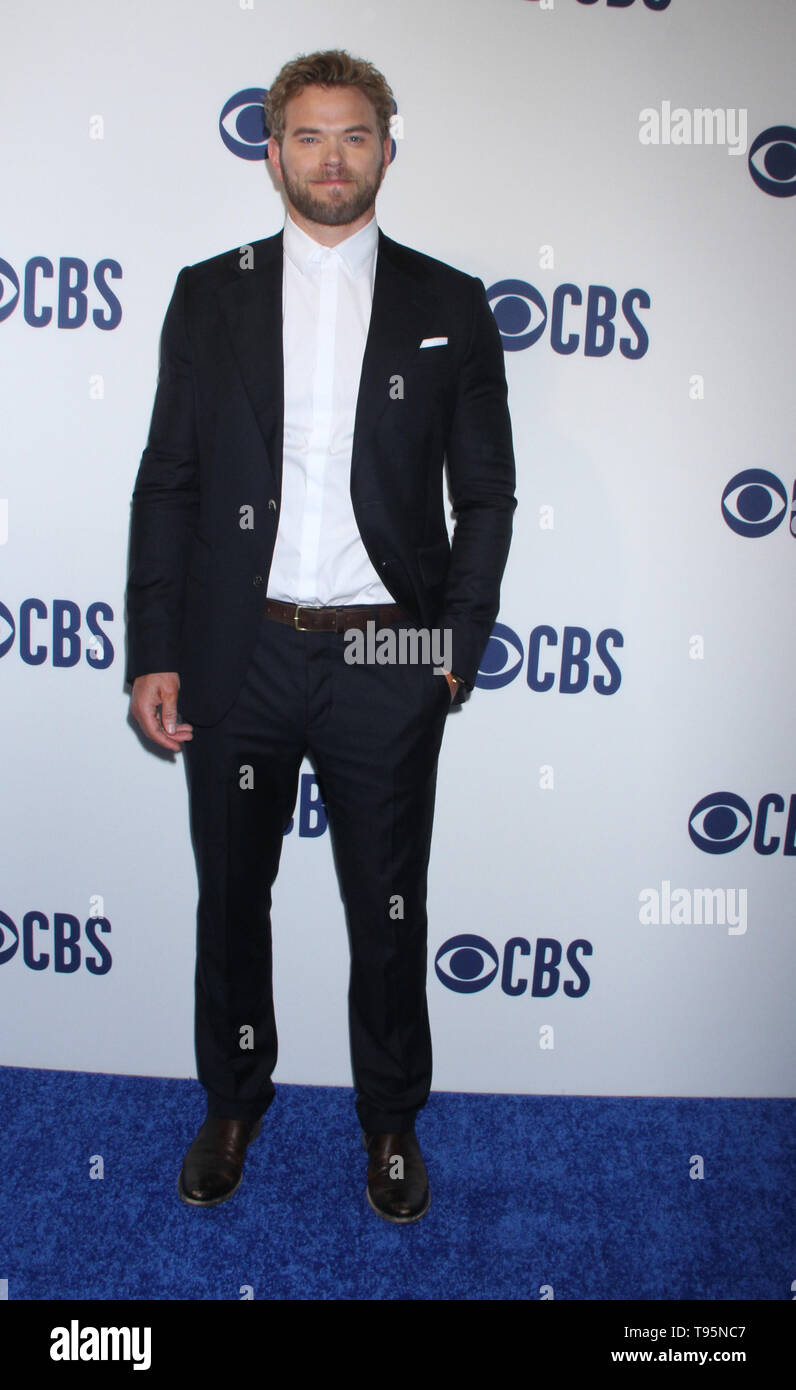 March 15,  2019 Kellan Lutz attend  2019 CBS Upfront  at the Plaza Todd English Food Hall in New York March 15, 2019  Credit:RW/MediaPunch - Stock Image