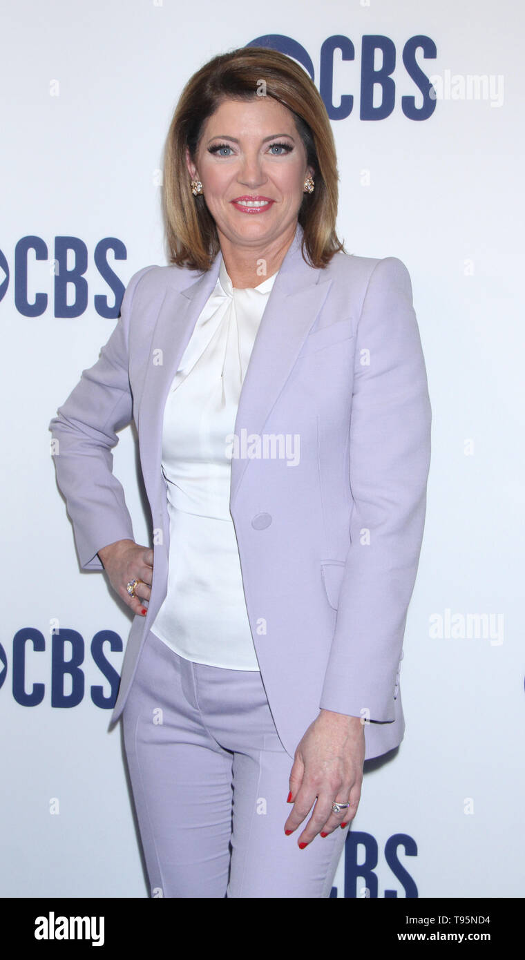March 15,  2019  Norah O'Donnell  attend  2019 CBS Upfront  at the Plaza Todd English Food Hall in New York March 15, 2019  Credit:RW/MediaPunch - Stock Image