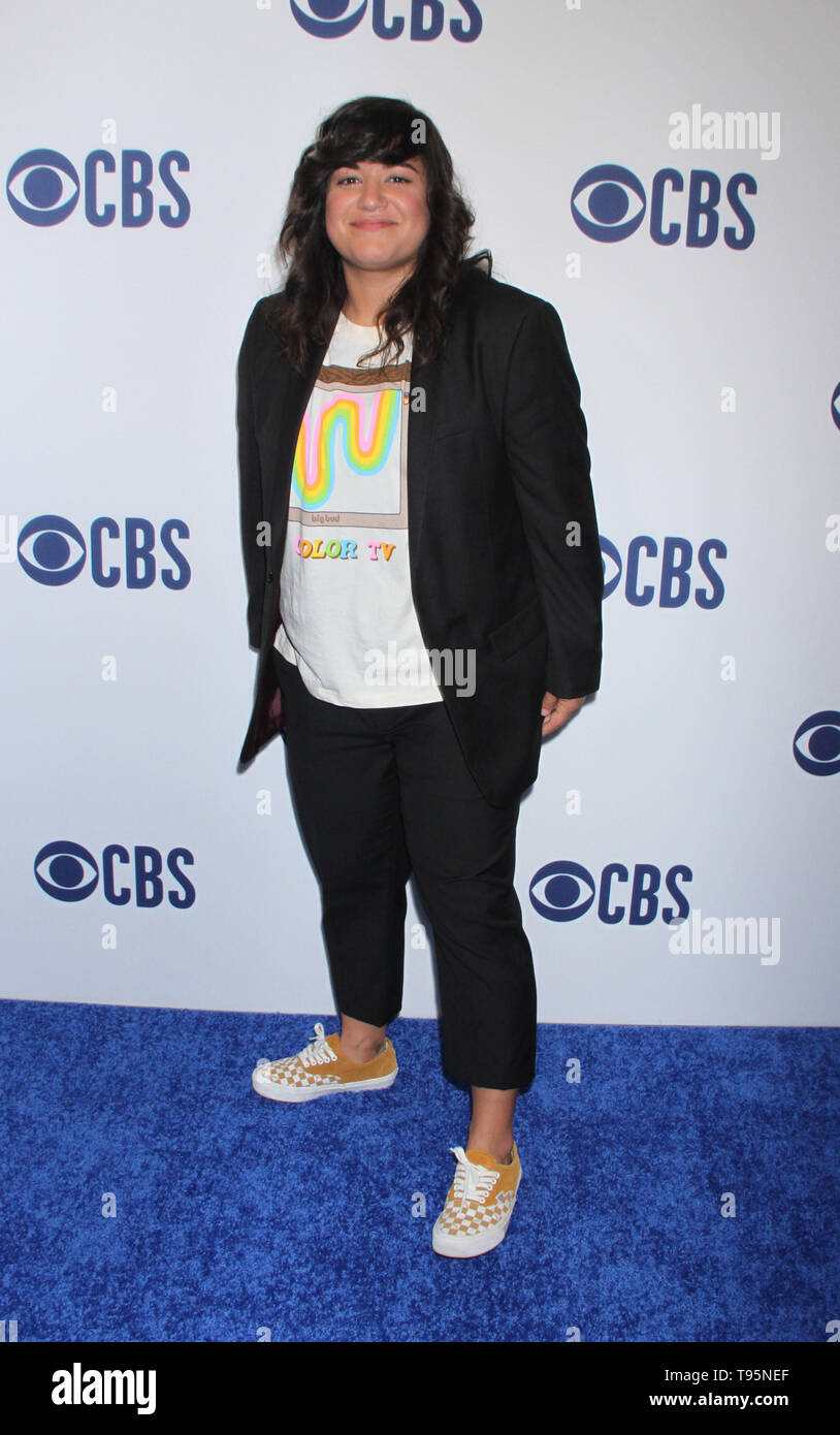 March 15,  2019 Sabrina Jalees  attend  2019 CBS Upfront  at the Plaza Todd English Food Hall in New York March 15, 2019  Credit:RW/MediaPunch - Stock Image