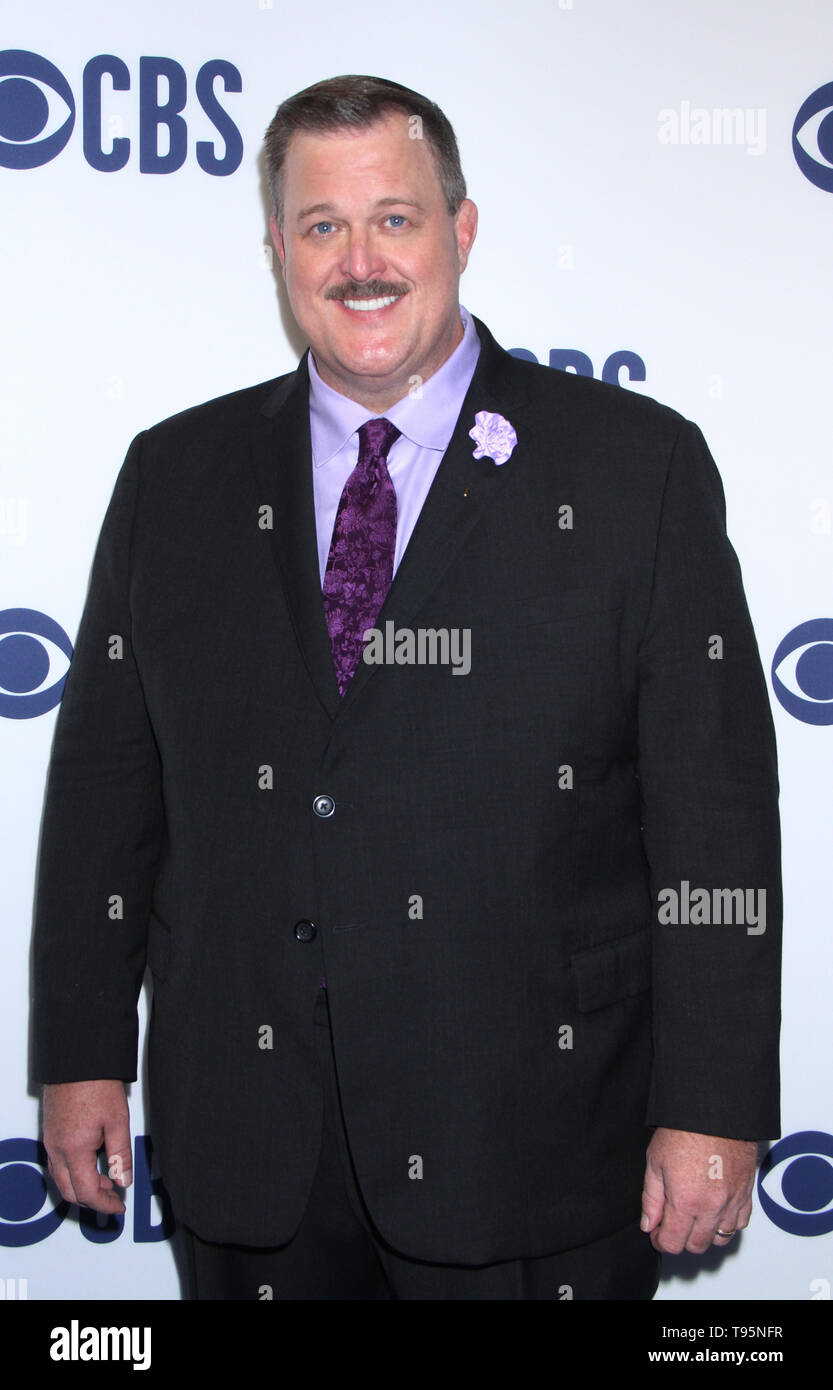 March 15,  2019  Billy Gardell  attend  2019 CBS Upfront  at the Plaza Todd English Food Hall in New York March 15, 2019  Credit:RW/MediaPunch - Stock Image