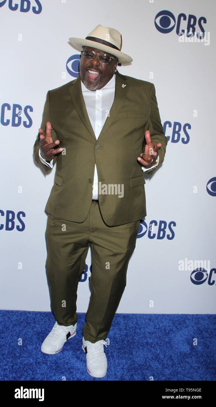 March 15,  2019 Cedric the Entertainer  attend  2019 CBS Upfront  at the Plaza Todd English Food Hall in New York March 15, 2019  Credit:RW/MediaPunch - Stock Image
