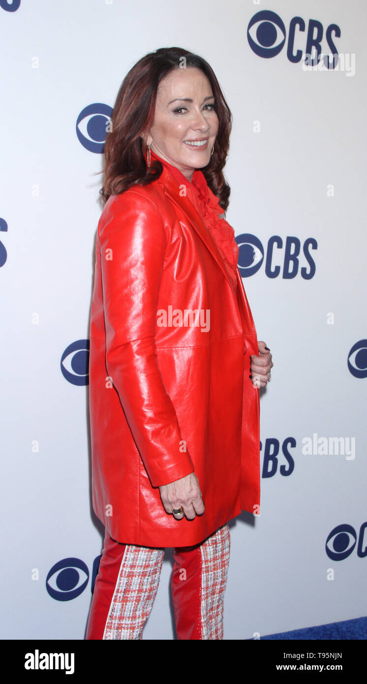 March 15,  2019  Patricia Heaton  attend  2019 CBS Upfront  at the Plaza Todd English Food Hall in New York March 15, 2019  Credit:RW/MediaPunch - Stock Image