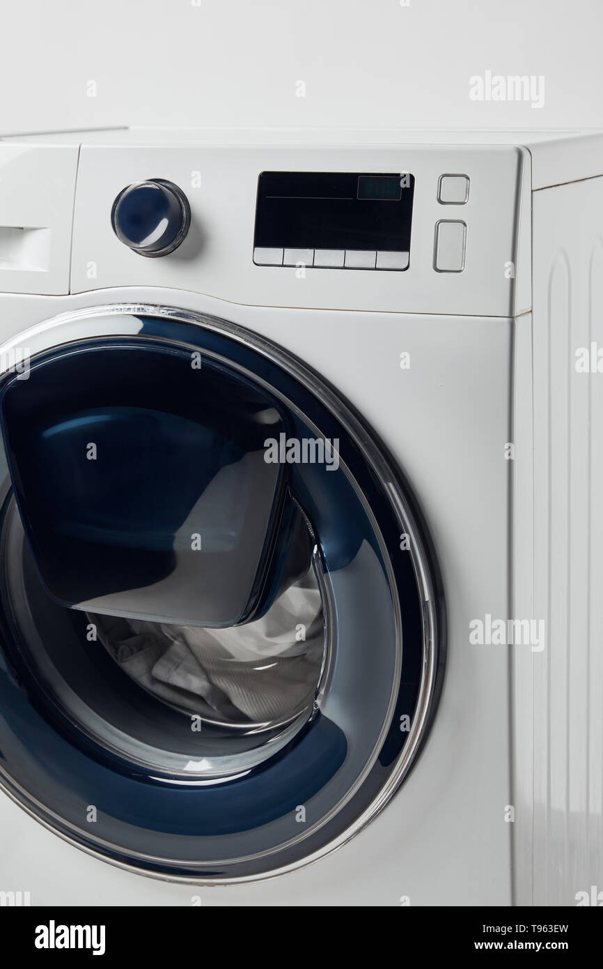 Washing Machine Buttons Stock Photos & Washing Machine