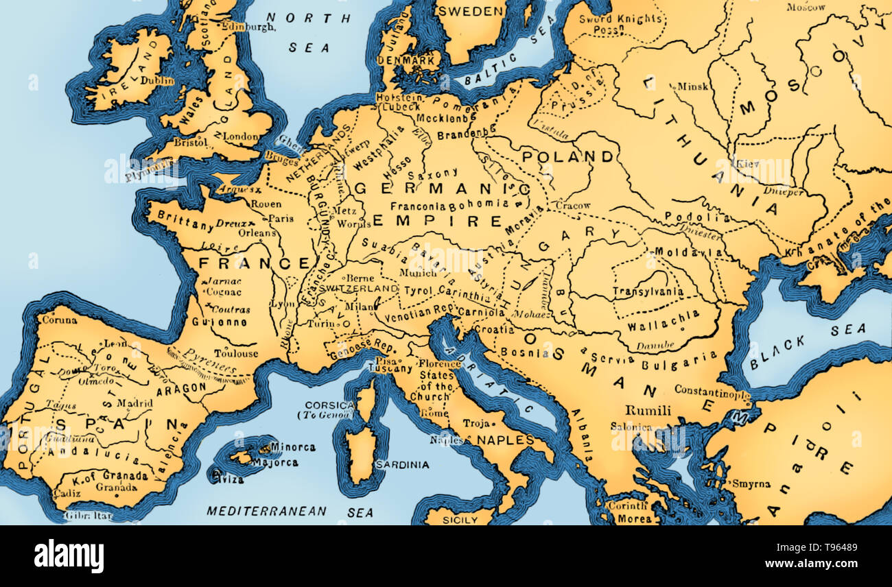In Europe The 15th Century Is Seen As The Bridge Between The Late
