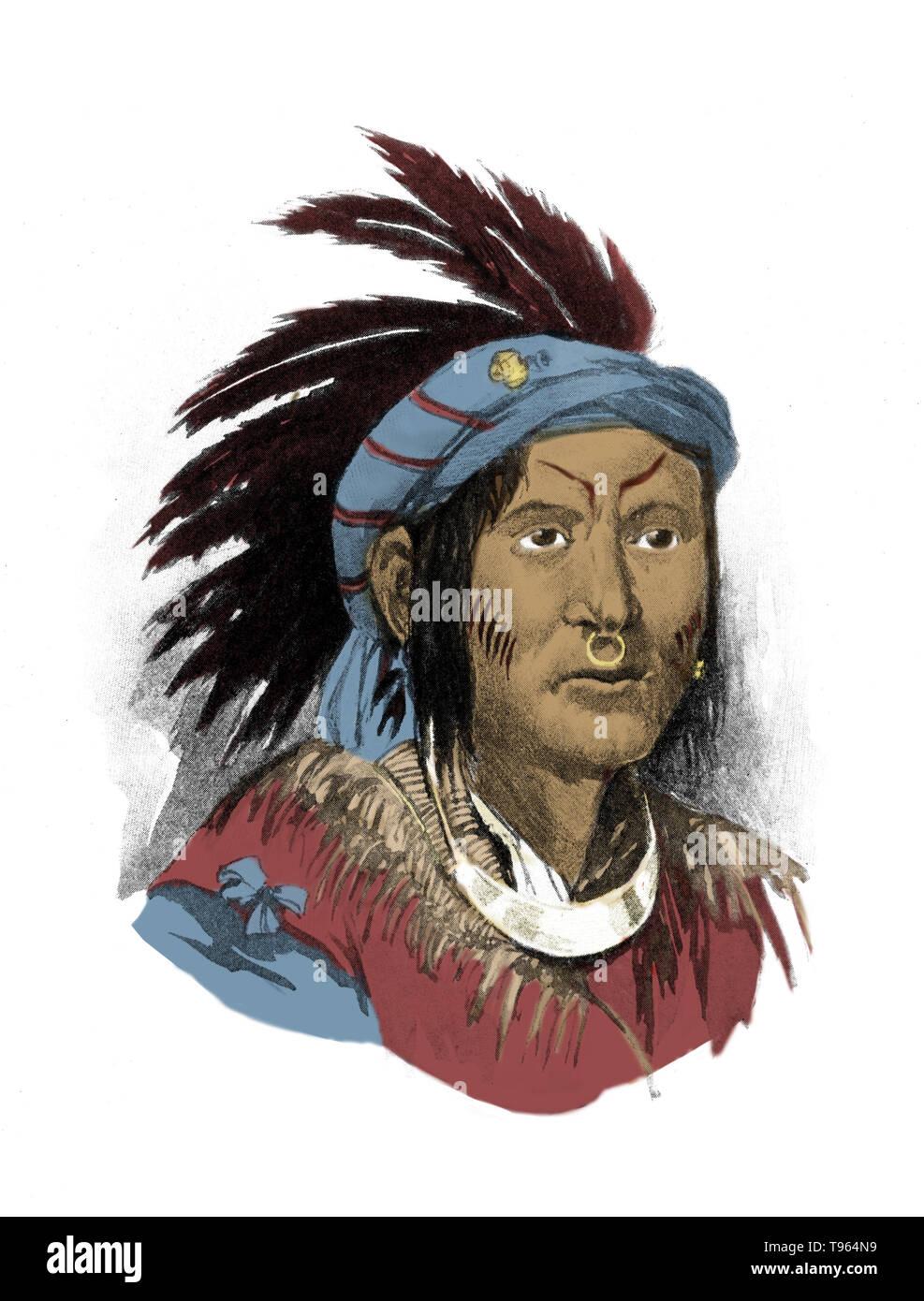 Pontiac (1720 - April 20, 1769) was an Ottawa war chief who became