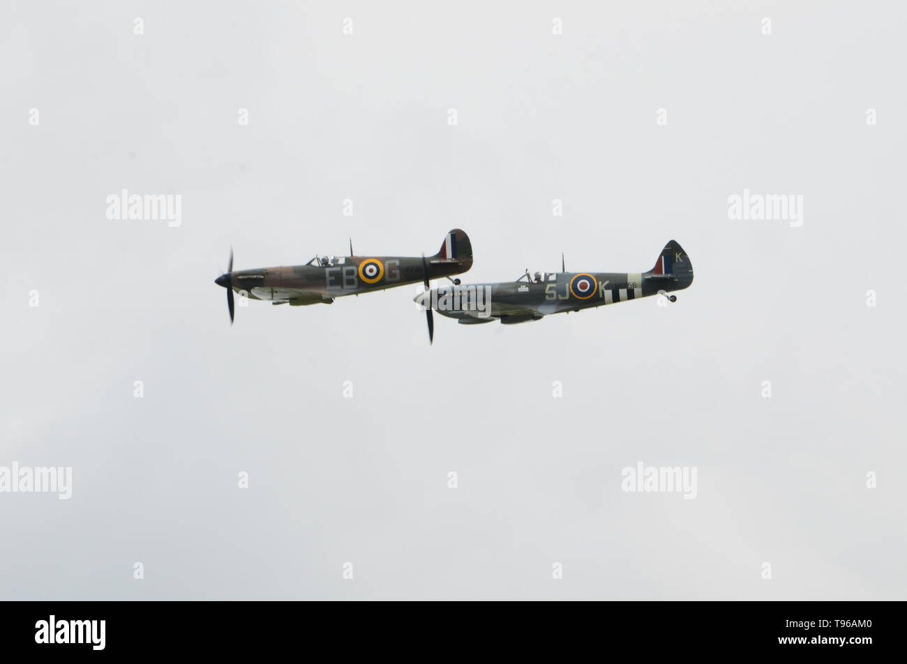Supermarine Spitfire, Battle of Britain - Stock Image