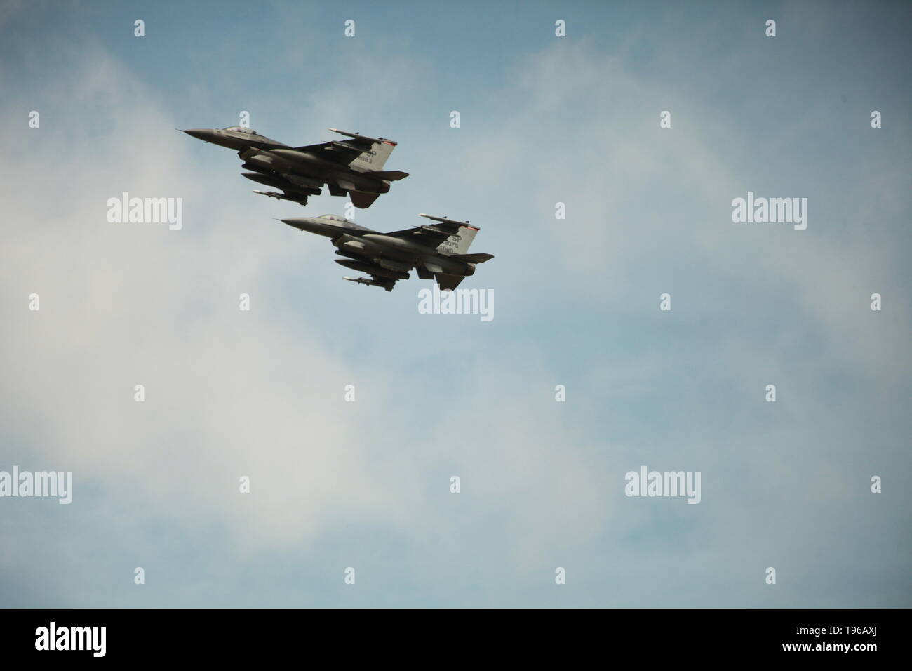 General Dynamics F-16 Fighting Falcon - Stock Image