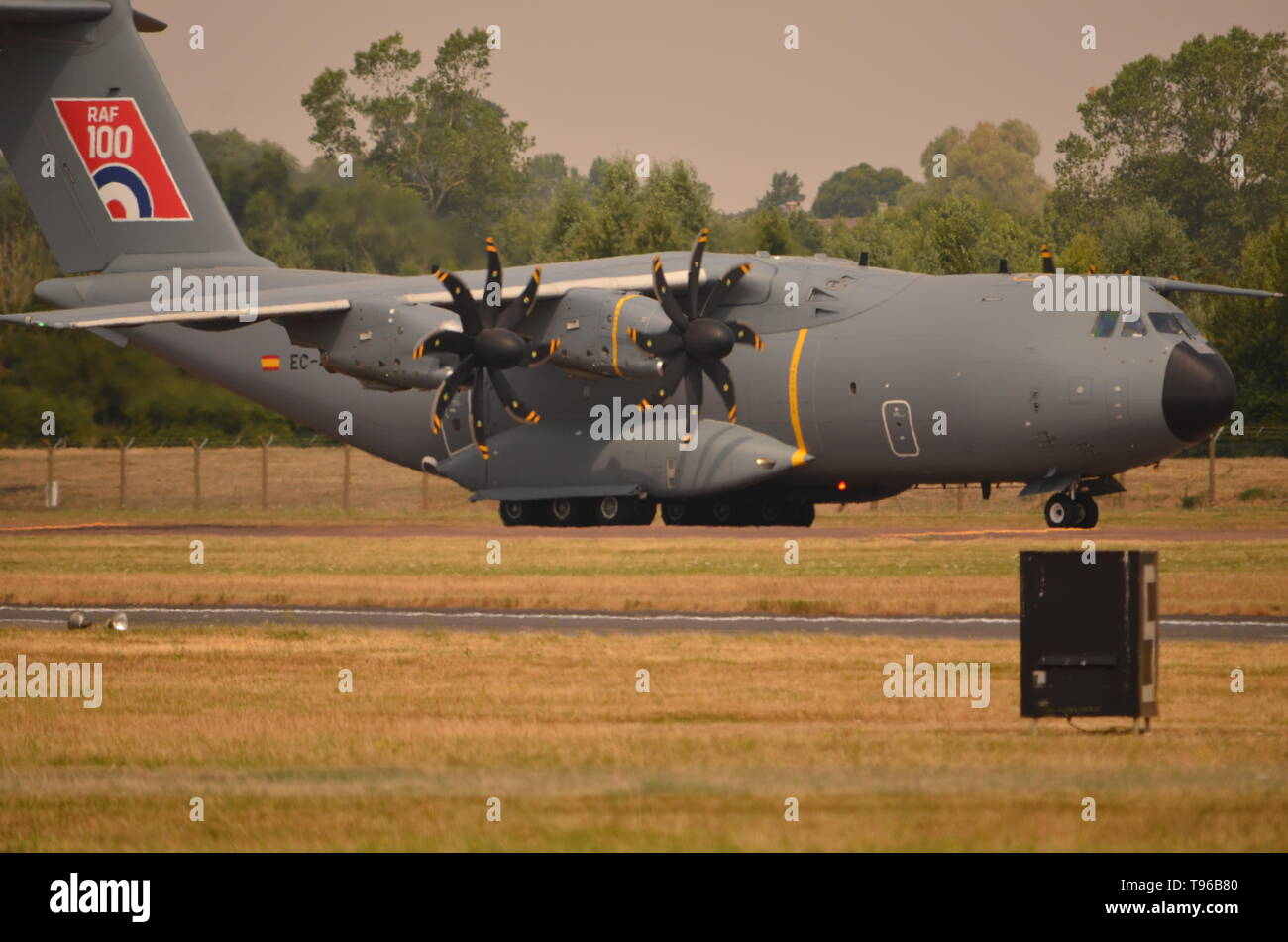 Airbus A400M Atlas,  military transport aircraft. - Stock Image