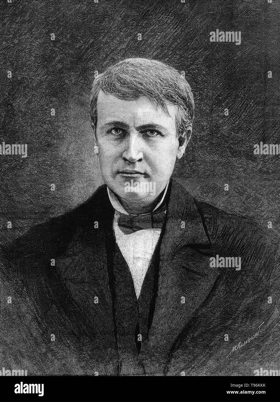Thomas Alva Edison February 11 1847 October 18 1931