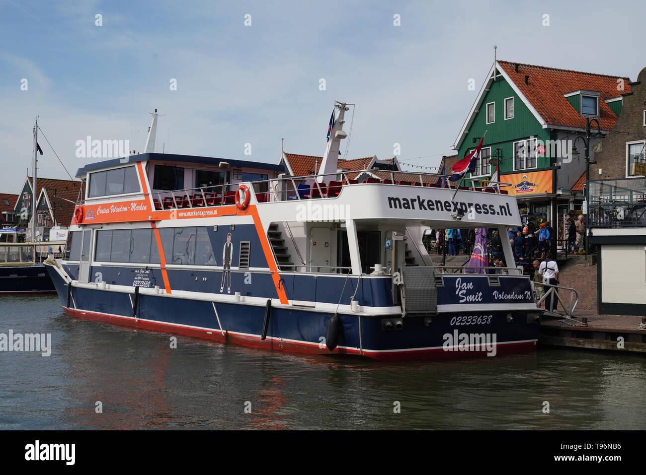 Marken Express ferry to Voleddam - Stock Image