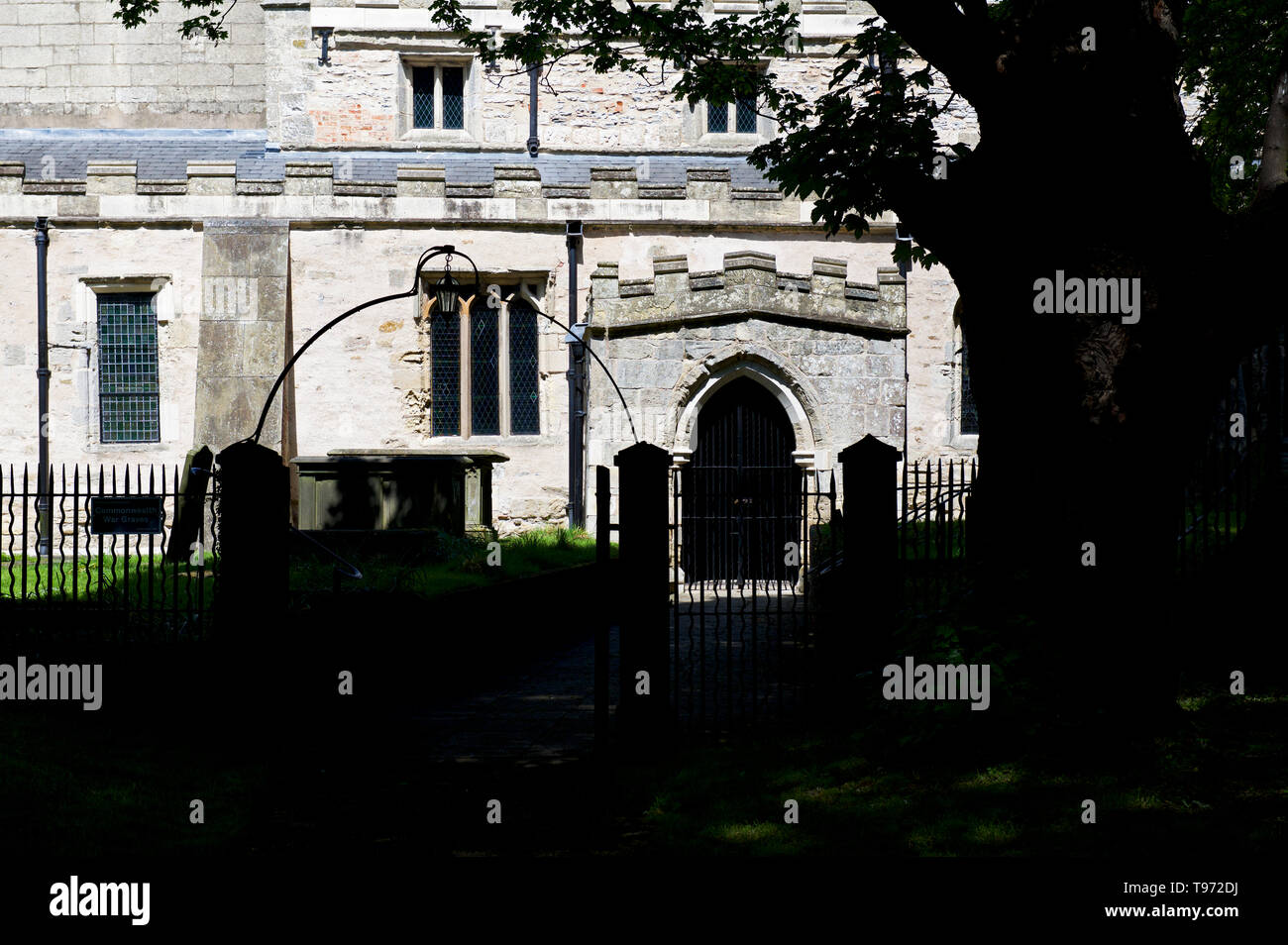 St Andrew's Church, Epworth,North Lincolnshire, England UK - Stock Image