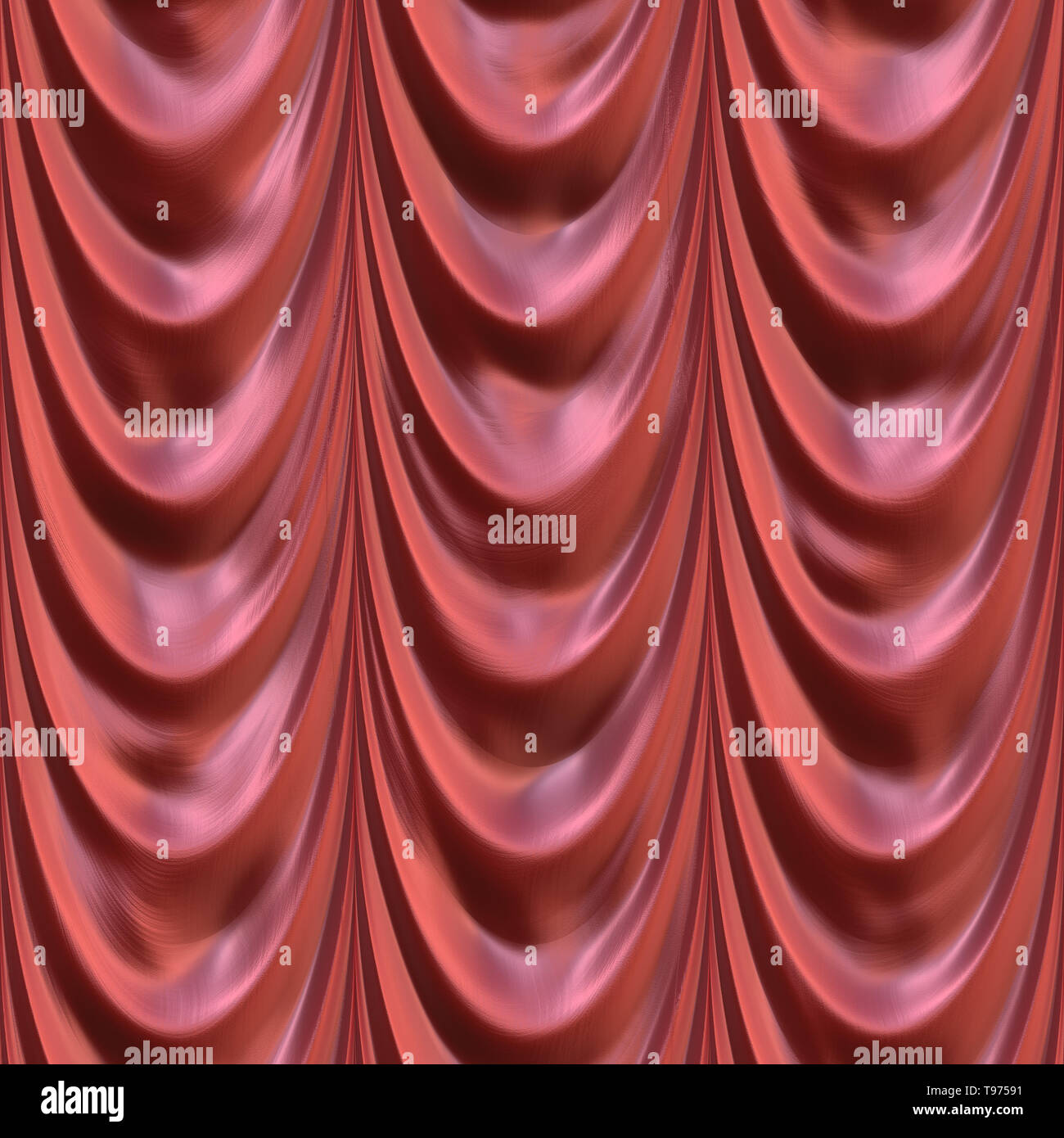 Drapery Seamless Texture Tile - Stock Image