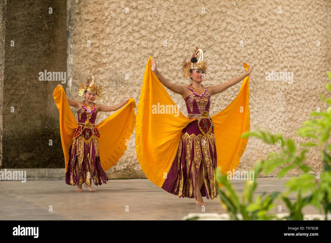 Barong dance show - Stock Image