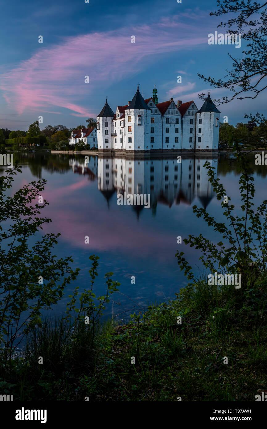 Glücksburg Castle - Stock Image
