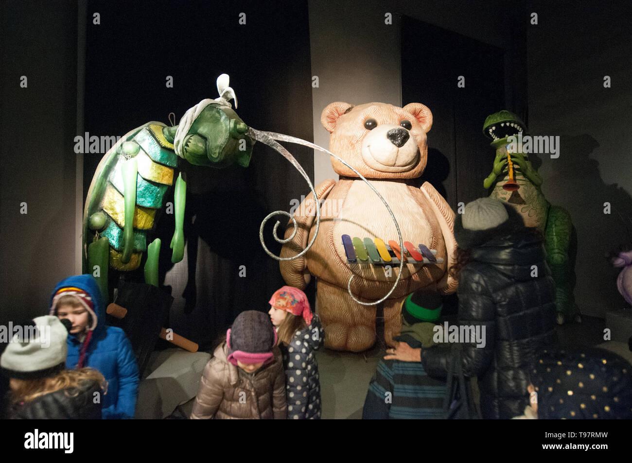 Nell'area museal della Cittadella  del Carnevale Stock Photo