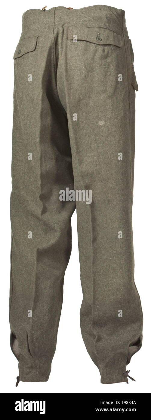 12bcbca3f33d A pair of trousers in the field-grey special clothing issue for army  assault gun