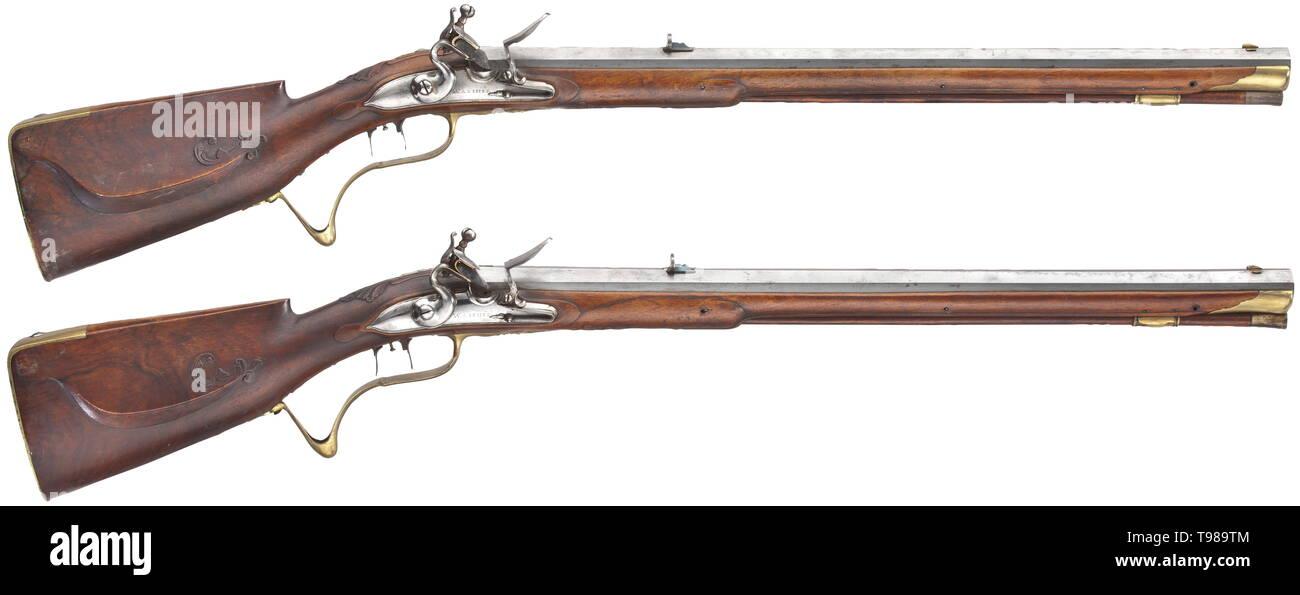 Flintlock Rifle Rifles Stock Photos & Flintlock Rifle Rifles