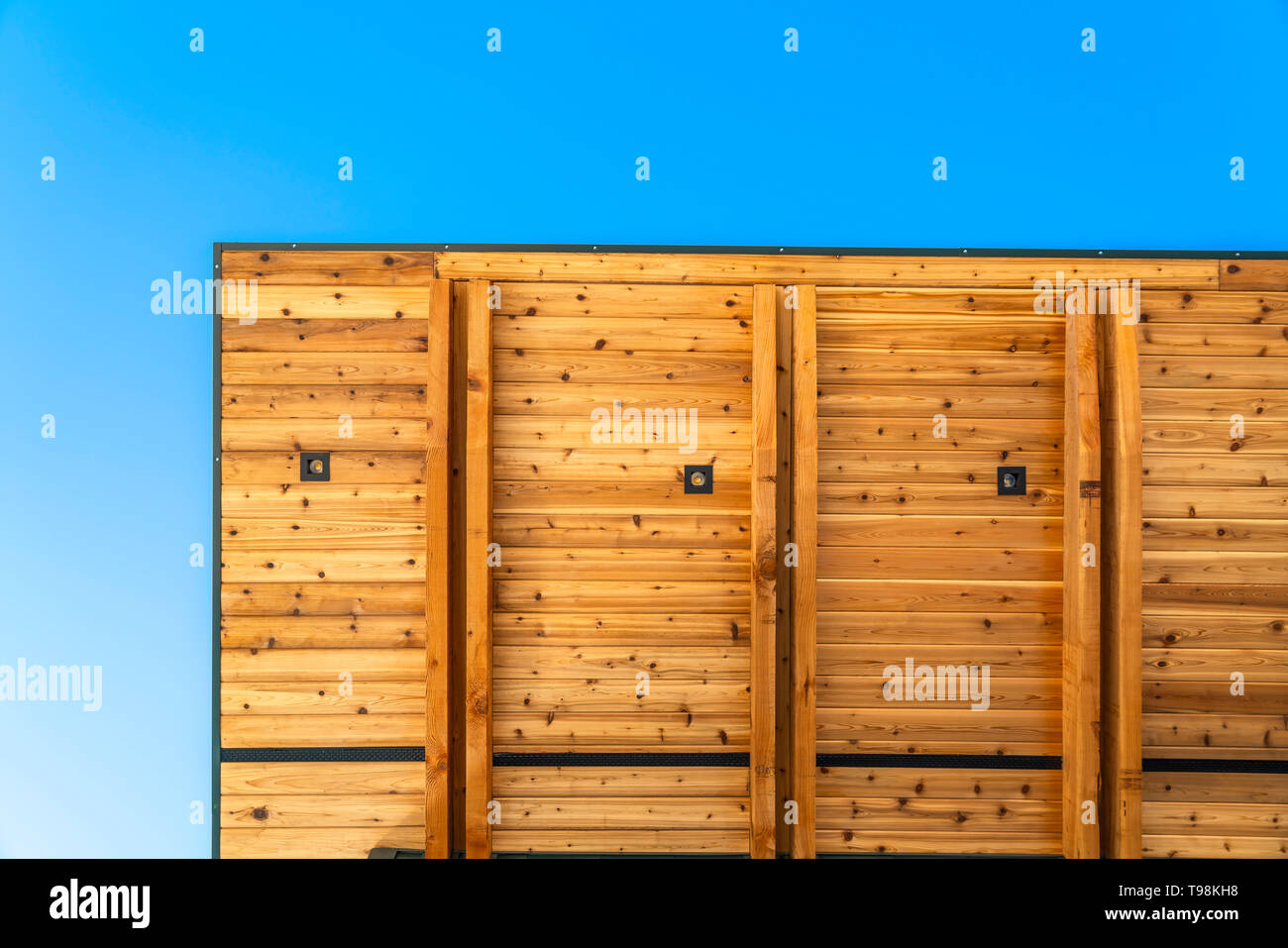 Wooden Planks Roof Building Stock Photos Wooden Planks Roof