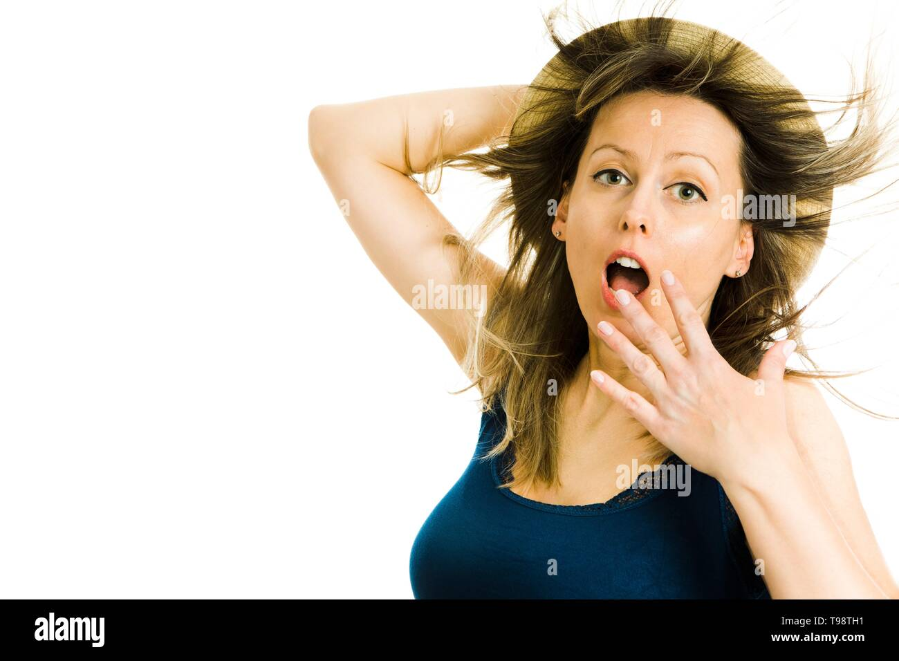 f4d02b770 Woman Singlet Stock Photos & Woman Singlet Stock Images - Alamy