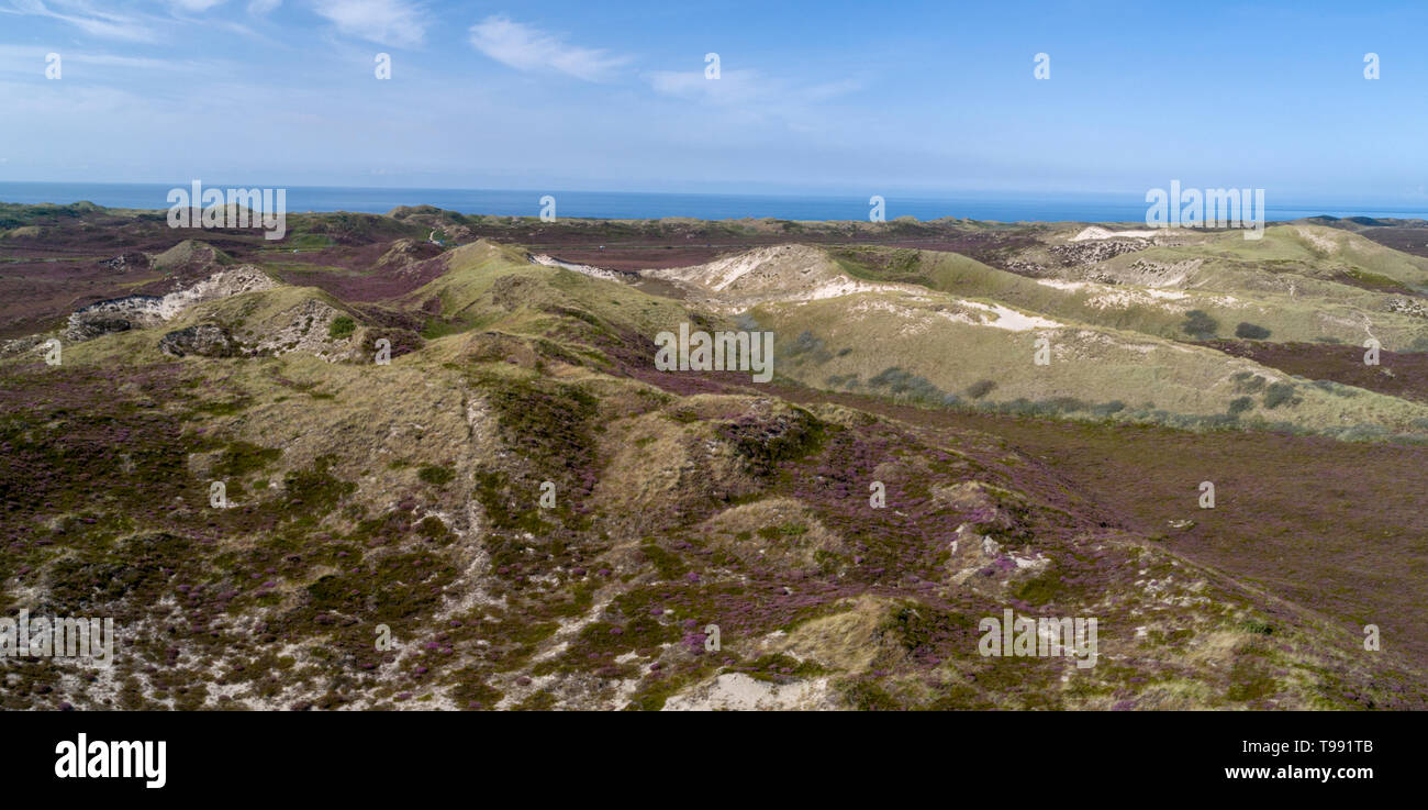 Aerial photos of Sylt, North Sea, Germany - Stock Image