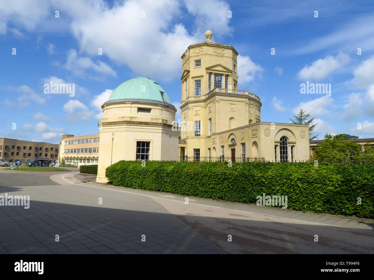 The 18th Century former  Radcliffe Observatory on the Green Templeton site, part of Oxford University, Woodstock Road, Oxford. Stock Photo