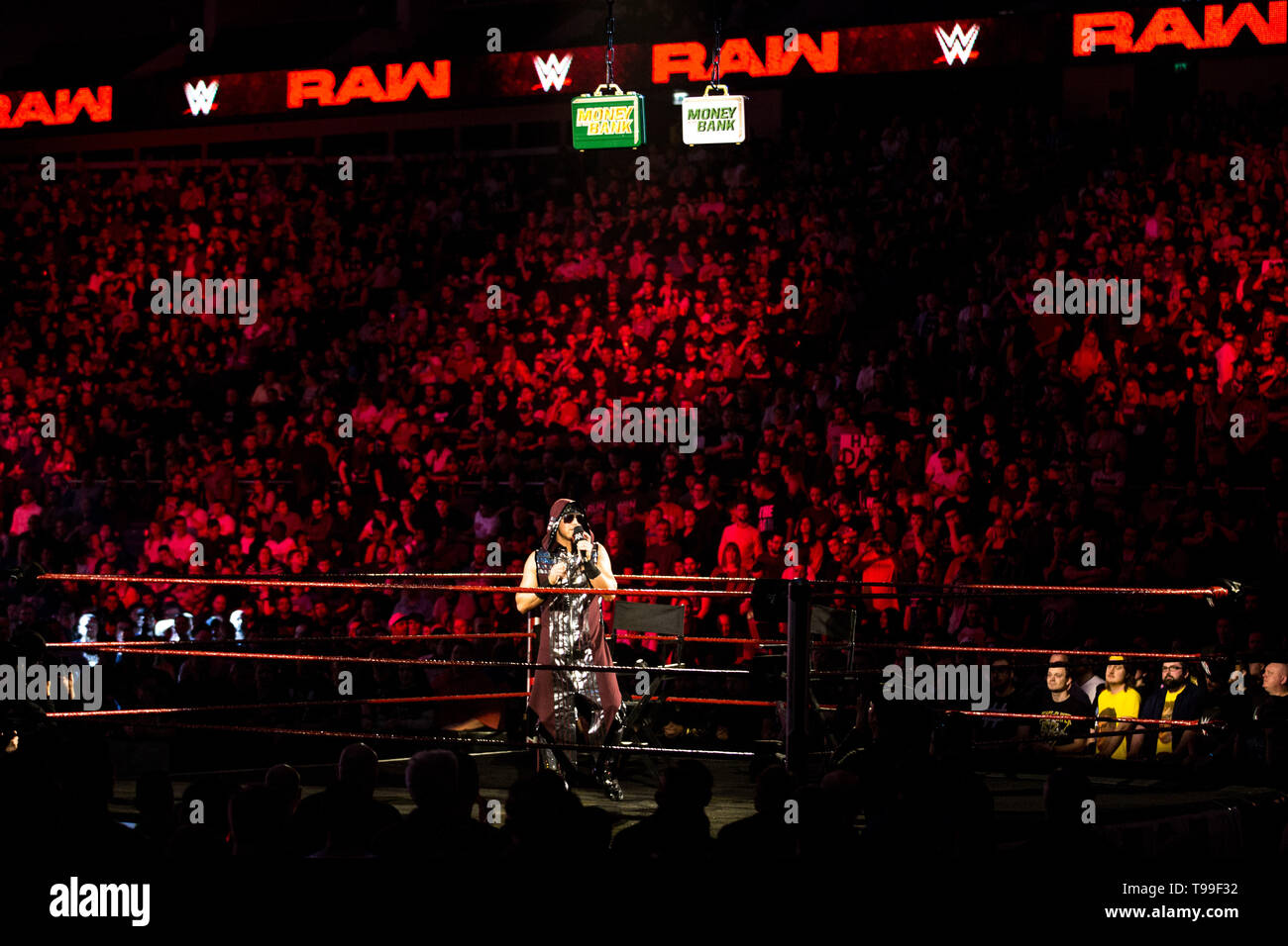 WWE Monday Night Raw at 02 Arena  London  on the 13th May
