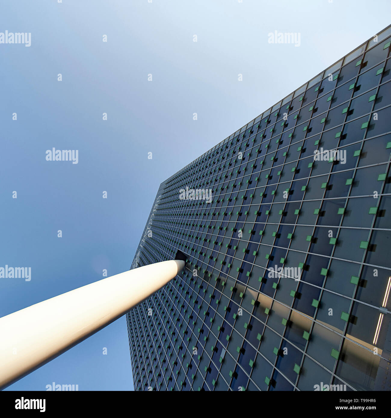KPN building in the city centre of Rotterdam - Stock Image