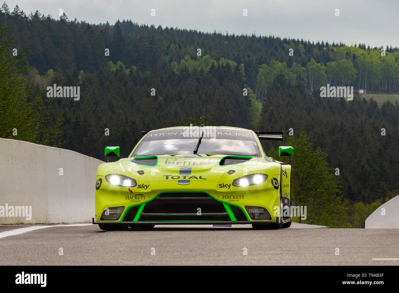 Friday Practice, WEC Total 6 Hours of Spa-Francorchamps 2019 Stock Photo