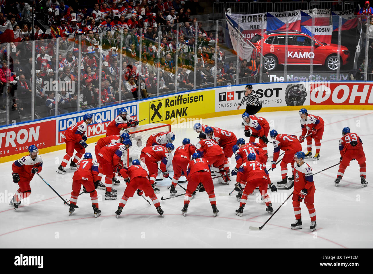 Bratislava Slovakia 17th May 2019 Czech National Ice Hockey Men