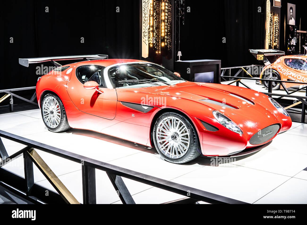 Ital Designs Hong Kong maserati concept car stock photos & maserati concept car