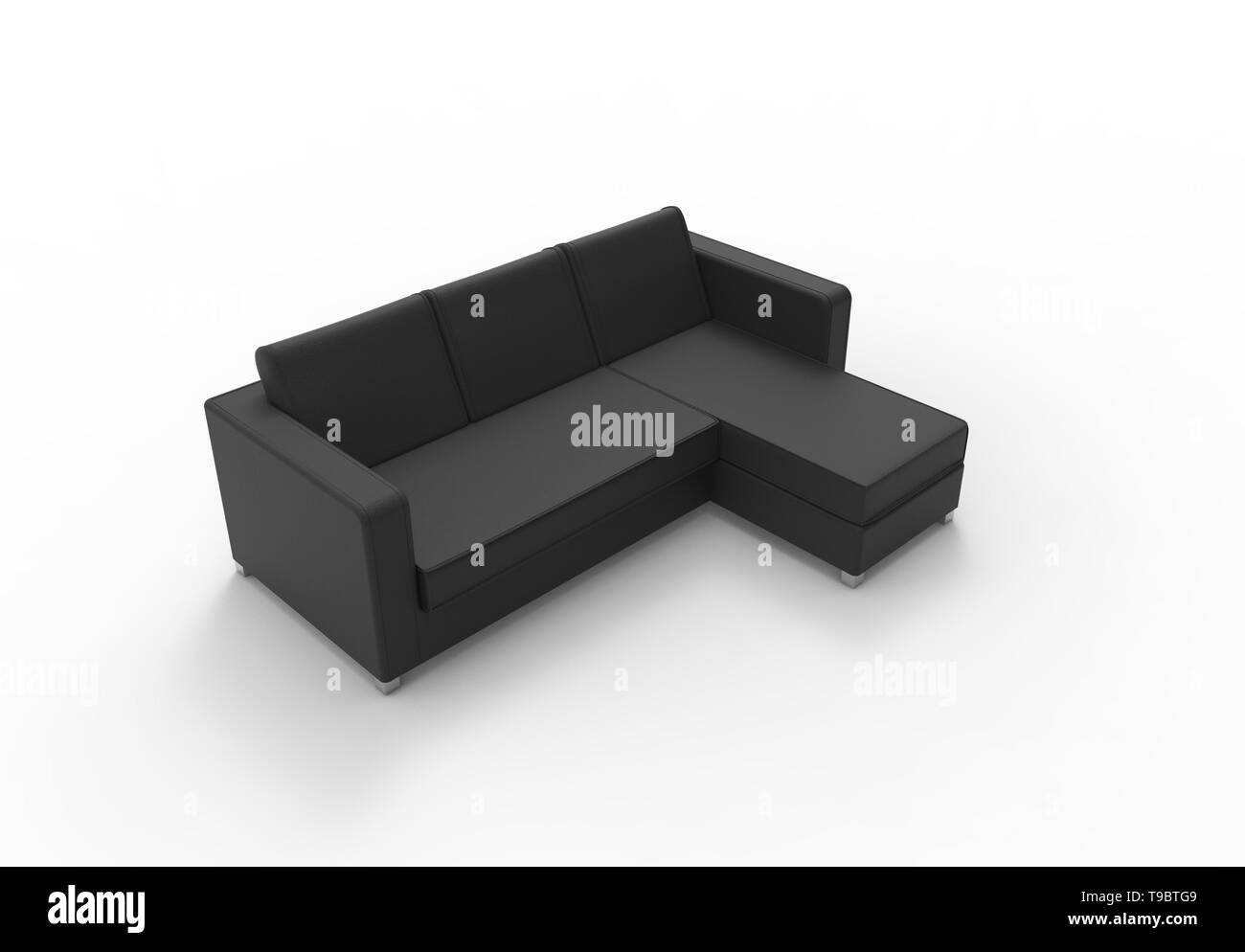 Enjoyable 3D Illustration Rendering Of The Front View Of A Three Dailytribune Chair Design For Home Dailytribuneorg